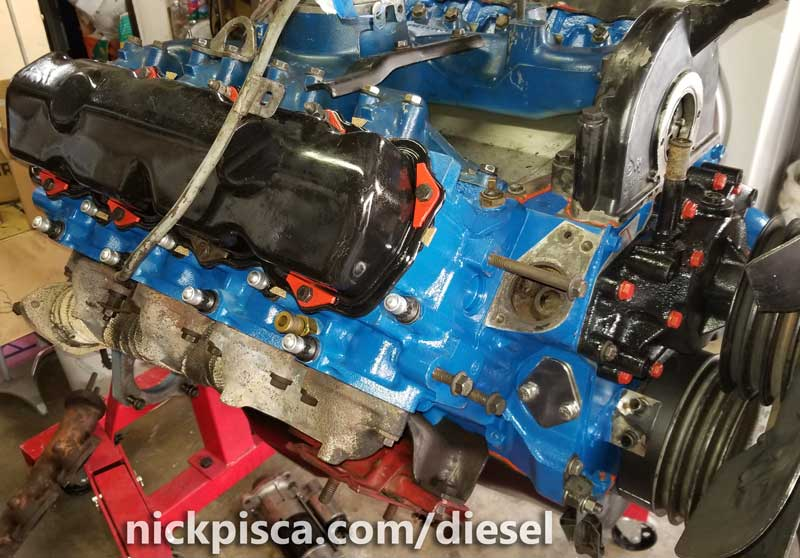 7 3 idi engine rebuild process