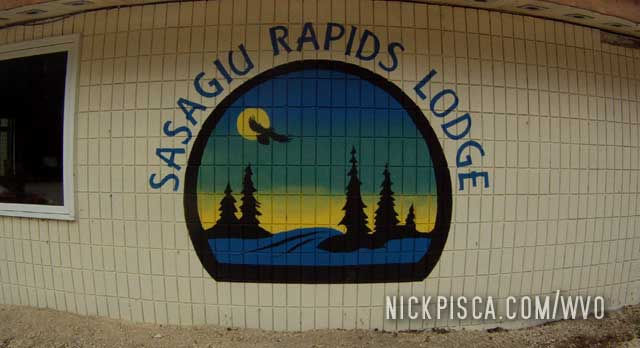Sasagiu Rapids Lodge MB