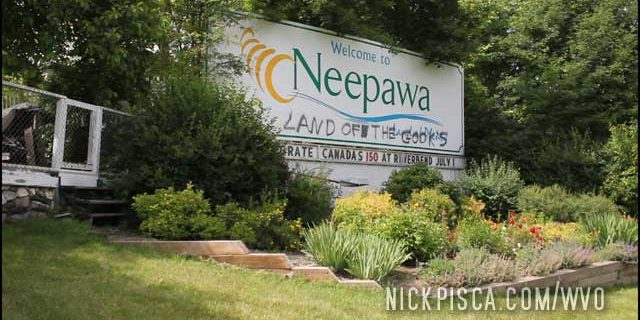 Neepawa Racist Sign