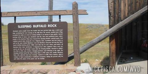 Sleeping Buffalo Rock