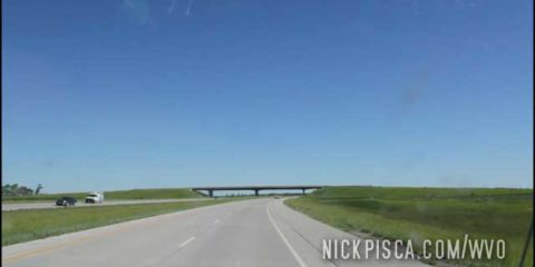 Driving to the border near Drayton ND