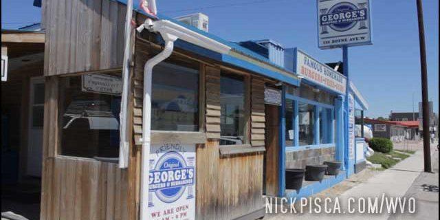 George's Burgers In Morris Manitoba
