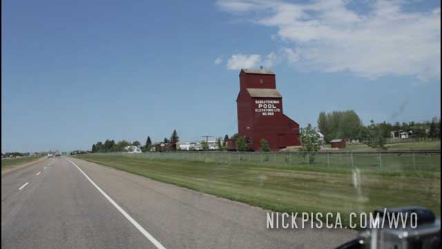 Driving Passed the Famous North Battleford West Expansion Museum