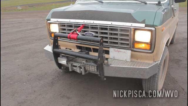 Broken Bumper on the Dempster