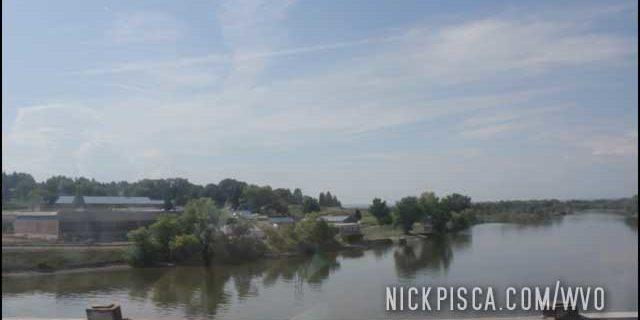 Missouri River in Great Falls Montana