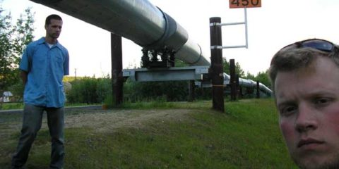 Alyeska Pipeline Viewing Point