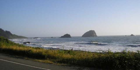 Pacific Ocean in Northern California
