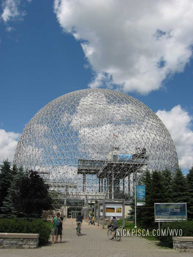 Biosphere Environmental Museum on Ile Ste. Helene