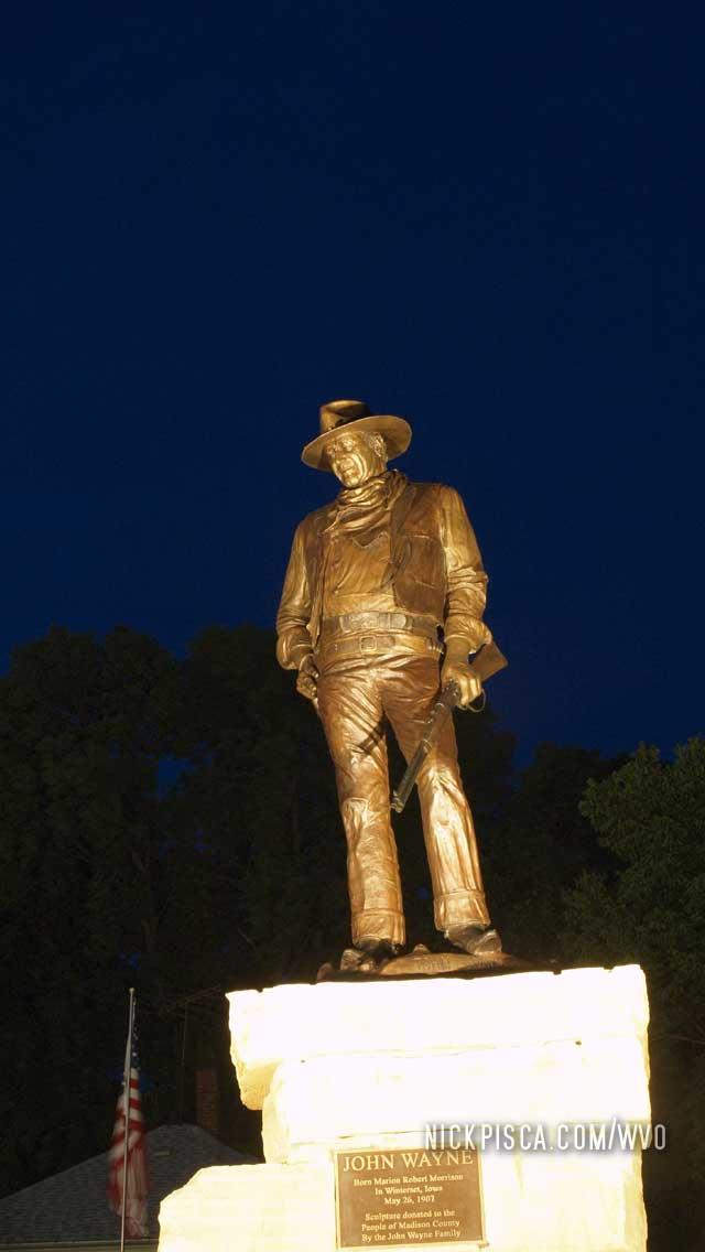 John Wayne Birthplace in Winterset Iowa