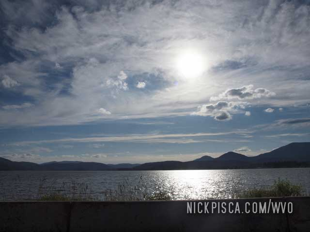 Lake Pend Oreille Near Sandpoint Idaho