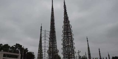 Watts Towers in California