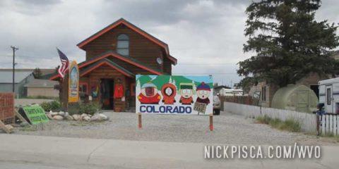 Fairplay and Breckenridge Colorado