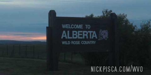 Montana – Alberta Border Crossing