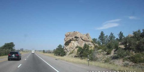 Near Scottsbluff Nebraska