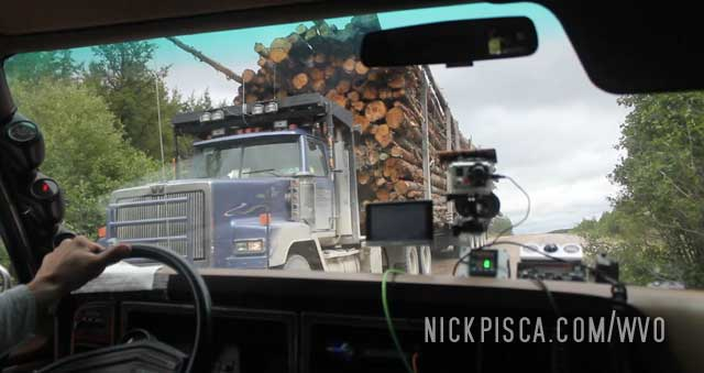 Logging Route 1055 in Quebec, Waswanipi, & Chapais