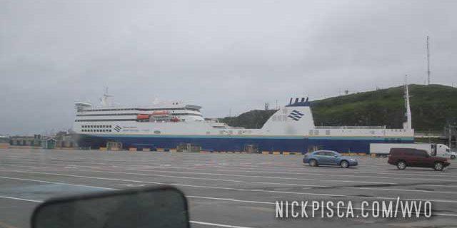 Port Aux Basques Ferry