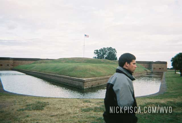 Fort Pulaski National Monument in Savanna
