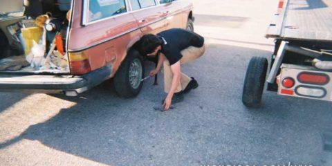 Tire and Suspension Breakdown near Sutherland NE
