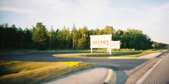 Eating Pasties in the U.P.