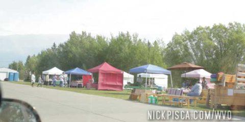 Farmer's Market in Baudette MN