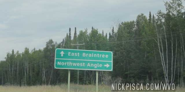 On the way to the Northwest Angle
