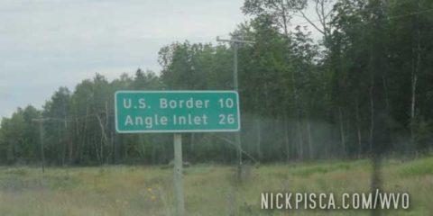 Entering the Northwest Angle