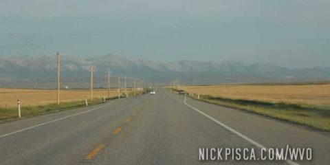 Near Pincher Creek Alberta