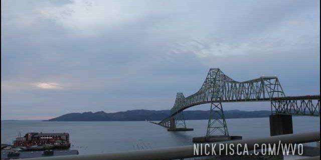 Chinook, Astoria, and the massive Astoria-Megler Bridge