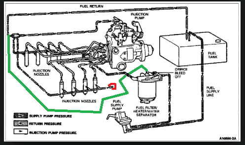 6 9 fuel line diagram  6  free engine image for user