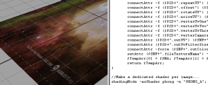 Nick Pisca's Automated function for bitmap placement on the color attribute of a surface.