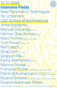 Intensive Field Symposium 2009