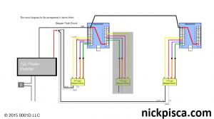 Dual Stepper Wiring Diagram.  © 2015 0001D LLC Nick Pisca