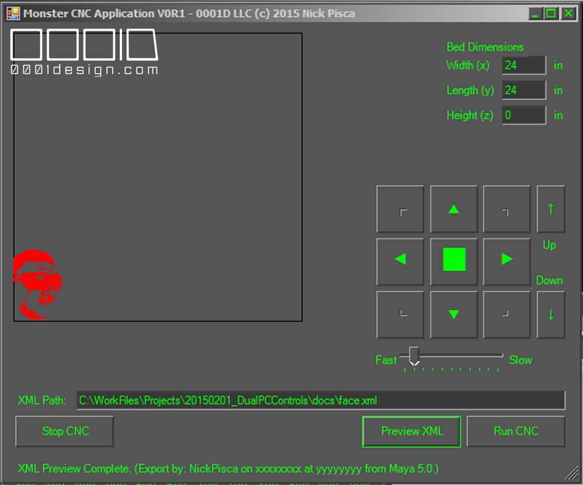 [0001D] Custom Maya MEL Polyline-to-XML Exporter