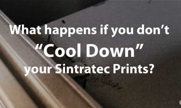 """What happens if you don't do the """"Cool Down"""" in a Sintratec SLS 3D Printer"""