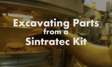 Excavating Sintratec SLS Prints