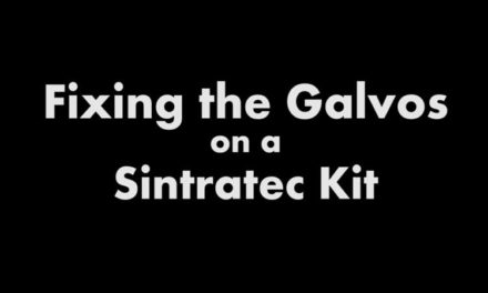 Figured Out My Sintratec Hatch Issue: How to Fix the Galvos with a Custom Made Allen Wrench