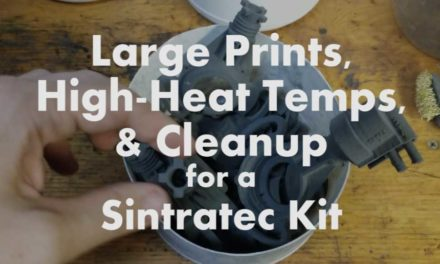 Large Sintratec Print Jobs, High Heat Temps, and Other Observations
