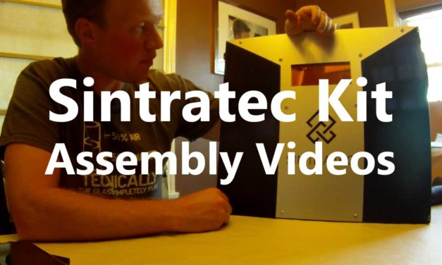 Sintratec Kit Assembly Videos