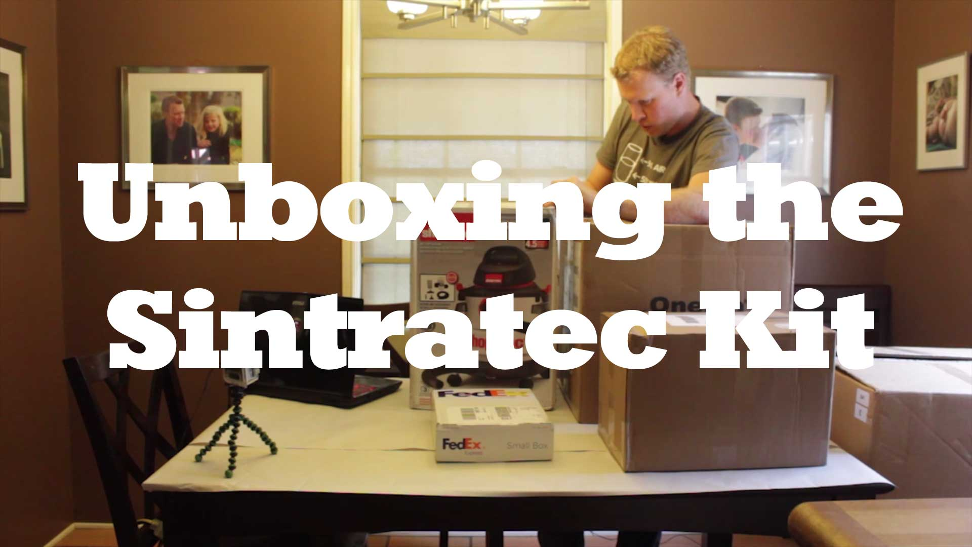 Unboxing the Sintratec Kit