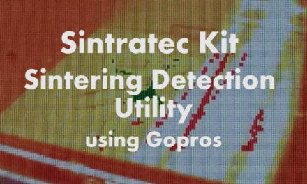 Sintratec Kit – Sintering Detection Utility (using Gopro cameras)