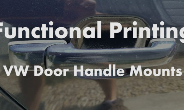 Functional 3D Printing | VW Door Handle Mounts