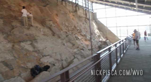 Dinosaur Quarry Visitor Center in Dinosaur National Park