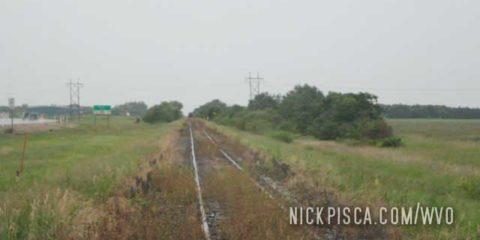 Train Tracks Heading up to Churchill