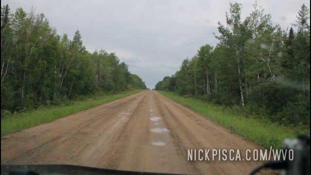 Muddy SK Highway 165