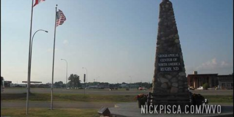 Geographic Center of the North America, in Rugby ND