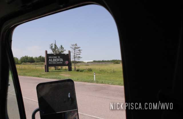 Alberta – Saskatchewan Border
