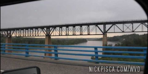 North Saskatchewan River near Edmonton