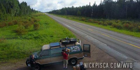 Alaska Hwy Pit Stop near Pink Mountain