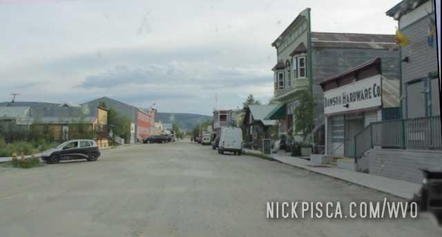 Dawson, Yukon. 2018