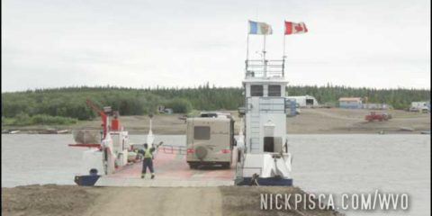 Fort McPherson and the Ferry